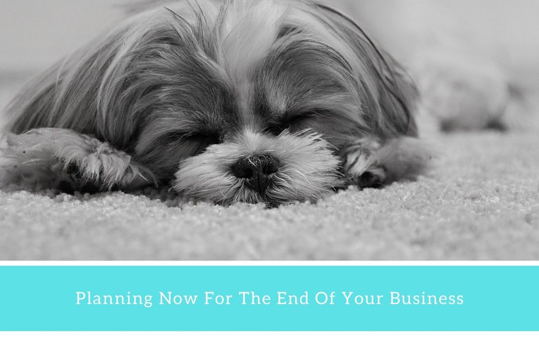 Start Thinking Now About Ending Your Business